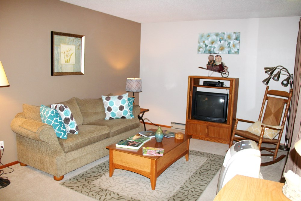 Living Room at Roberts' Roost