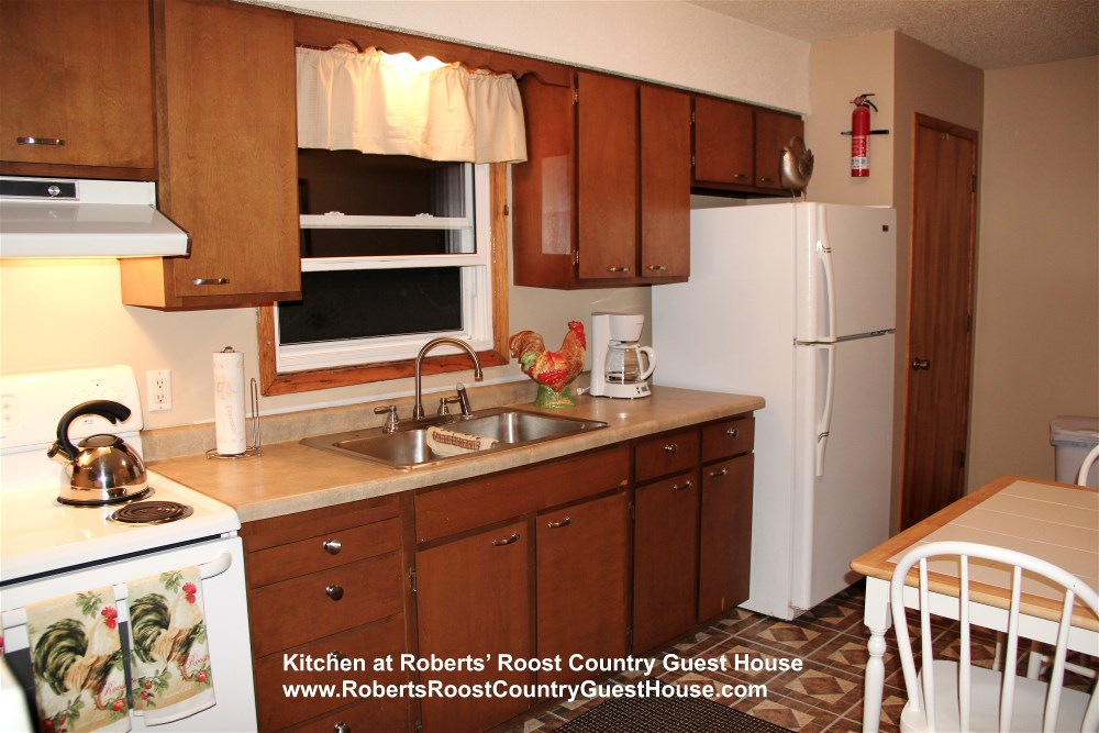 Kitchen at Roberts' Roost
