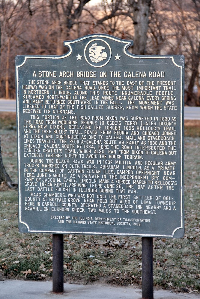 Stone Bridge Historical Marker