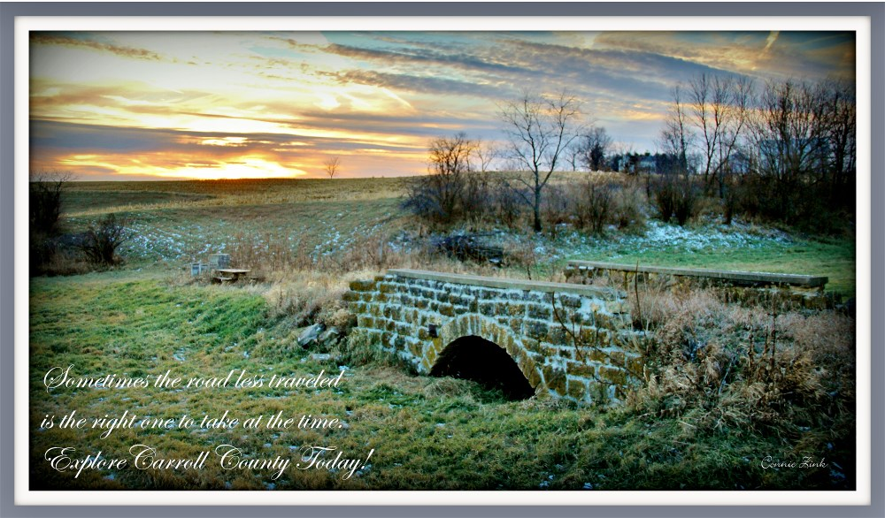 Stone Arch Bridge Stone Bridge Road Lanark Illinois