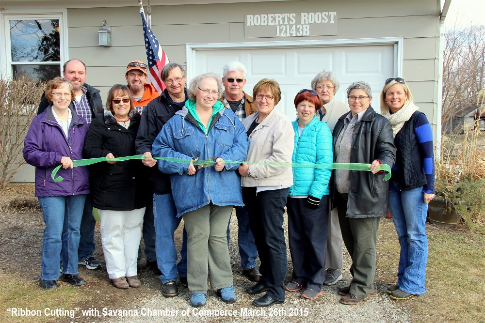 """Ribbon Cutting"" with Savanna Chamber of Commerce"